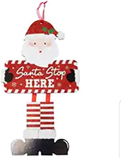 Holiday Christmas Decoration Decor Decorations Home Office Classroom (Bonus SD Exclusive Stylo De Fantaisie) Festive Santa...
