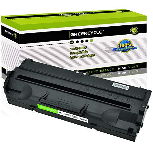 GREENCYCLE Compatible Toner Cartridge Replacement for Samsung ML-1210D3 ML1210D3 ML1210 Use in ML-1210 ML-1010 ML-1020 ML-1220 ML-1220M ML-1250 ML-1430 Printer (Black, 1-Pack)