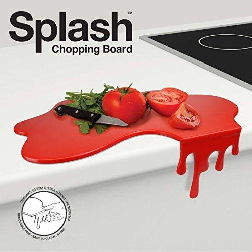 MUSTARD M13003 Tagliere da Cucina - Rosso Macchia di Sugo Splash Chopping Board