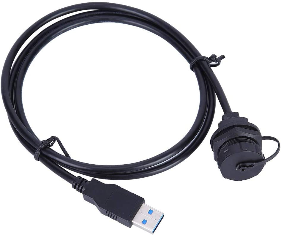 Waterproof USB3.0 OFFicial store Connector Genuine Female Male Plug Wire P Meter