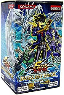 YuGiOh Trading Card Game 5D's Duelist Pack Yusei Fudo Booster Box [Toy]