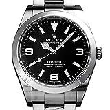 ロレックス ROLEX エクスプローラー I 214270 ブラック文字盤 中古 腕時計 メンズ (W208526) 並行輸入品