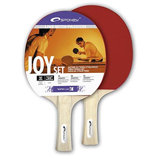 Spokey Unisexe Joy Ensemble pour Tennis de Table, Multicolore, Taille Unique
