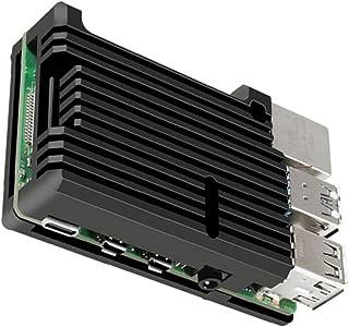NiceCore 4B Modèle Shell Micro Computer métallique de refroidissement Boîtier en alliage d'aluminium du boîtier Dissipatio...