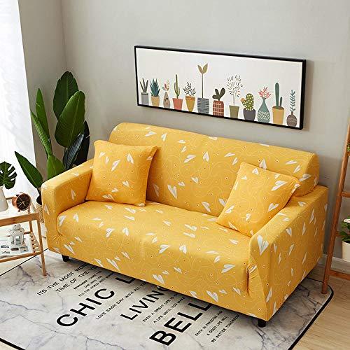 Funda de sofá de Alta Elasticidad,Funda de sofá elástica con patrón impreso, funda de cojín universal para todas las estaciones, funda de sillón antiincrustante para sala de estar, funda de protecció
