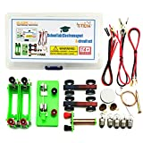 EUDAX DIY Physics Experiment Model Kit Electromagnetic Materials Electromagnet and Basic Electricity Discovery Circuit for School Lab Creative Educational Science Projects Teaching Equipment