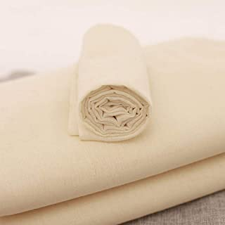 Ginoya Brothers - Cheesecloth,1 x 1.2 Mtr,100% Unbleached Pure Cotton Muslin Cloth for Straining, Ultra Fine Reusable Hemm...