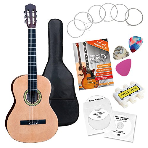 Classic Cantabile AS-861 guitarra de concierto 1/2 set de