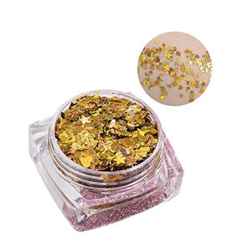 Cloud ROM Sombra de ojos Glitter Powder Kit Mix Gel Eyes Polvos Sueltos Eye Beauty Mineral Base Loose Sparkling Shadow Pigment Sombras brillantes Shimmer Maquillaje Cosmético del Sombreador Mate La