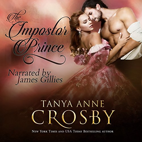 The Impostor Prince audiobook cover art