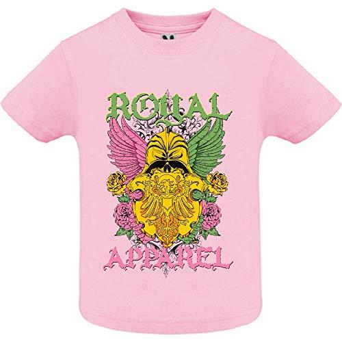 LookMyKase T-Shirt - Royal Apparel - Bébé Fille - Rose - 12mois