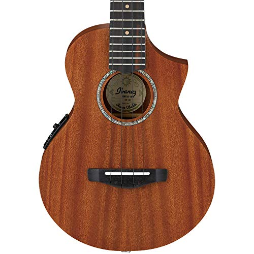 Ibanez, 4-String Ukulele, Right, Open Pore Natural (UEWT5E)