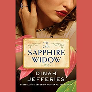 The Sapphire Widow audiobook cover art