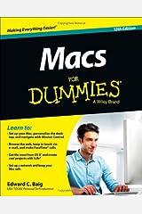 Macs For Dummies Paperback