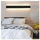 Ralbay Lámpara de pared LED 30W 3900LM Lámpara de iluminación de pared de interior moderna de gran brillo Lámpara de iluminación de pasillo Escaleras de vestíbulo, Blanco cálido 3000K