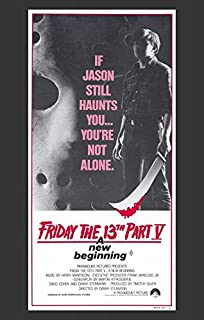Friday the 13th Part 5 New Beginning (Australian ) POSTER (11