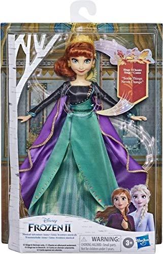 """Disney Eiskönigin Traummelodie Anna singende Puppe, singt das Lied """"So Wird`s Immer Film Die Eiskönigin 2, Spielzeug für Kinder"""