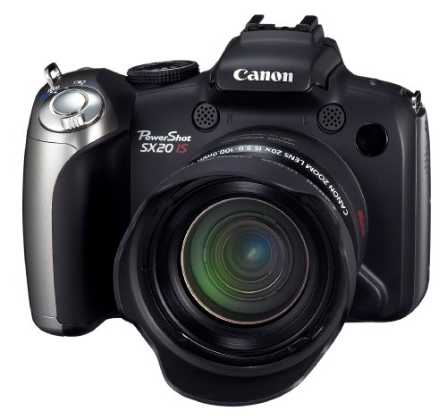 Canon PowerShot SX20IS 12.1MP Digital Camera with 20x Wide Angle Optical Image Stabilized Zoom and 2.5-Inch Articulating LCD (Discontinued by Manufacturer)