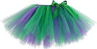 Girls Party Fluffy Tutu Skirt Elastic Short Tutus
