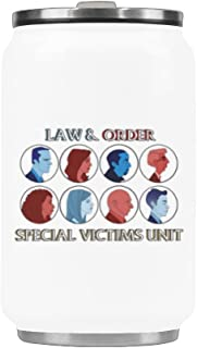 Law And Order: Special Victims Unit Vacuum Cup Coffee Mug Stainless Steel Travel Cup 10.3 Ounces