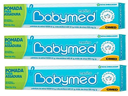 Babymed Barato Kit C/3 Menino Igual Hipoglós