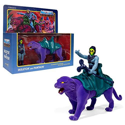 2 Figuren Skeletor & Pantor 10 cm Universum Masters Super 7. Reaktion