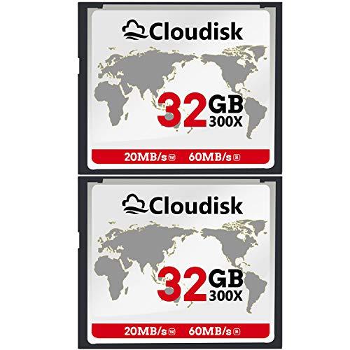 Cloudisk CF Card Compact Flash Memory Card Performance