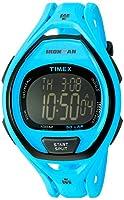 (タイメックス) Timex アイアンマンスリーク50フルサイズウォッチ Unisex ネオンブルー