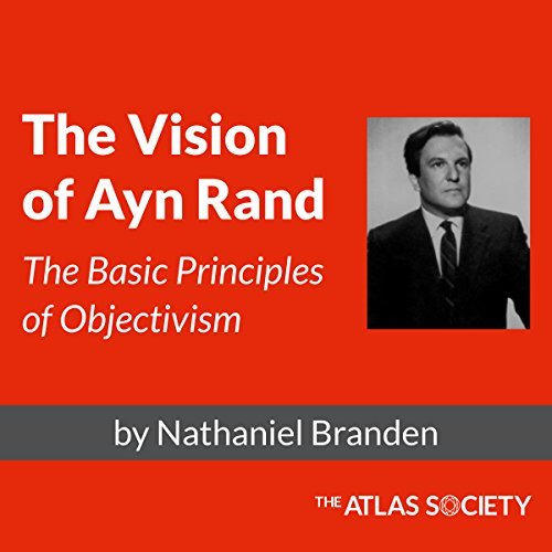 The Vision of Ayn Rand audiobook cover art