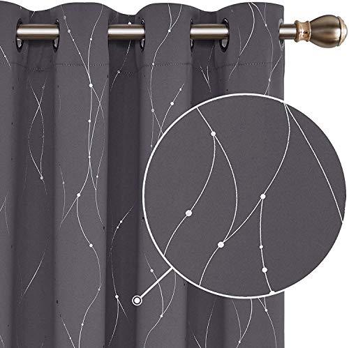 cortinas salon estampadas