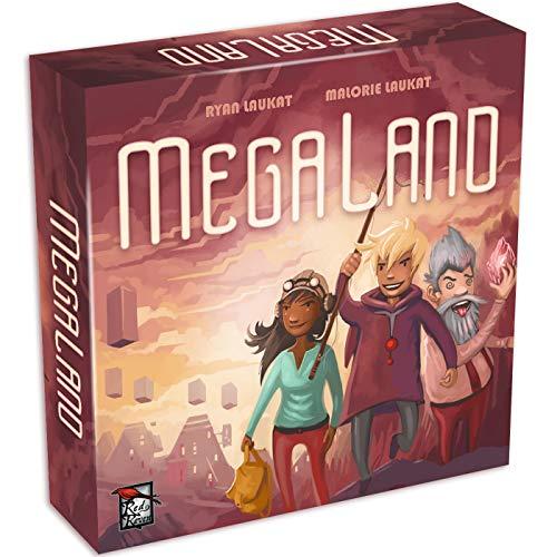 Red Raven Games RRG00020 Megaland, Mehrfarbig