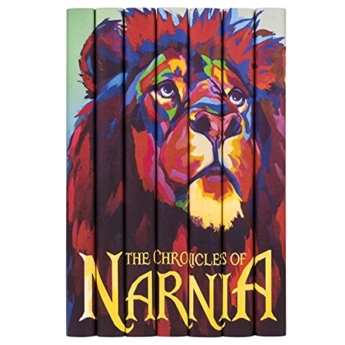 Juniper Books The Chronicles of Narnia Complete Series | 7-Volume Hardcover Book Set with Custom Designed Dust Jackets | Author C.S. Lewis | Includes All 7 Books of The Chronicles of Narnia Series