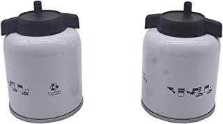 2 Pcs Fuel Filter with Water Separator Replacement for Bobcat 6667352