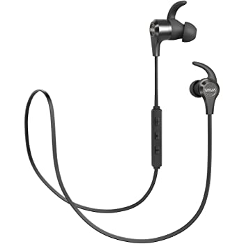 VAVA MOOV 25 Bluetooth Headphones, Magnetic Wireless Headphones Sports Bluetooth Earphones, aptX High Fidelity Stereo, IPX6 Splash Proof Earbuds, 9 Hour Battery, cVc 6.0 Noise Cancelling Microphone