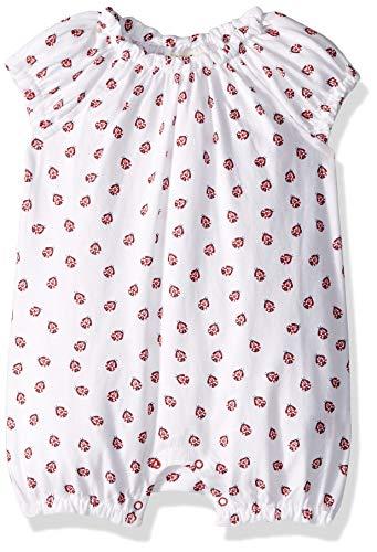 Hatley Baby Girls Mini Rompers, Little Lady Bugs, 18-24 Months