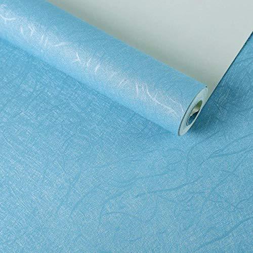 Preisvergleich Produktbild ACCEY Tapeten Moderne Wohnkultur Einfarbig Tapetenrolle Blau Gelb Grün Wasserdicht Papel Wandbild Für Wohnzimmer Papel De Pared @ 60025_Blue