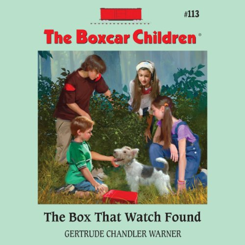 The Box That Watch Found audiobook cover art