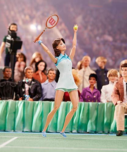 Barbie - Colección mujeres que inspiran, muñeca BillIie Jean King (Mattel GHT85)