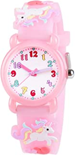 Venhoo Kids Watches 3D Cute Cartoon Waterproof Silicone...