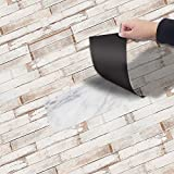 DIY Etiqueta Engomada del PVC papel pintado pared, Estilo del patrón Azulejo de piso Color del azulejo Impermeable Para el piso de la cocina Sala de estar del baño, 20 * 300CM (Estilo 3)