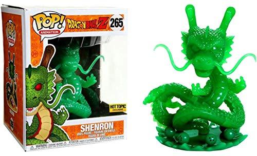 Funko Pop Shenron 265 Dragonball Z Figuras 15 cm Hot Topic Exclusive Dragón Anime