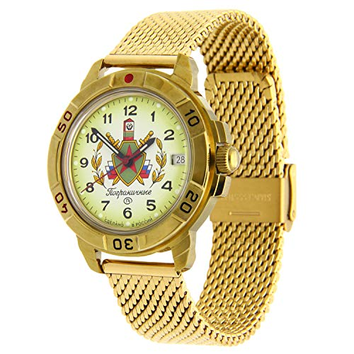 Vostok Komandirskie #439878 Reloj mecánico de cuerda manual IG