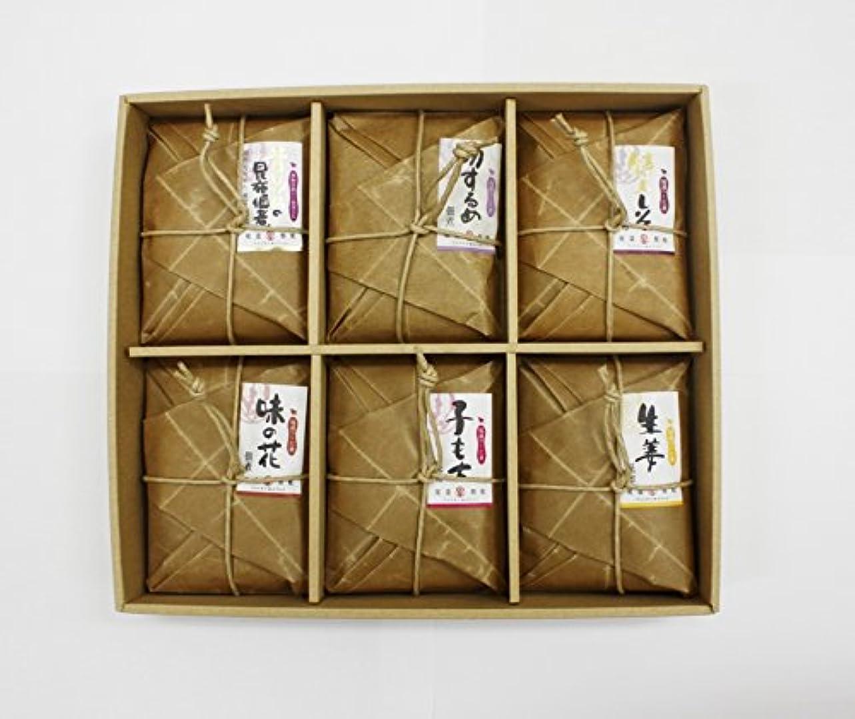 スコア発行高い川原食品 小さな油紙佃煮6品セット