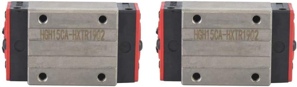 Linear Guide Block - High order 2pcs Motion HGH15CA Finally resale start Rail Mini