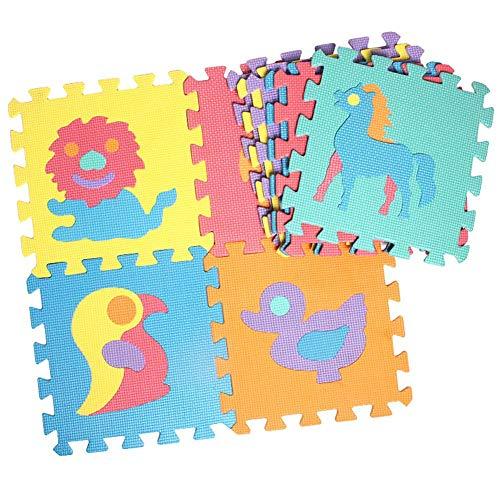 SunniY Alfombra de Puzzle para bebés y niños