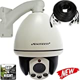 PTZ Camera Ventech Indoor Mini Dome 10X Zoom 960H 1000TVL 3 Big