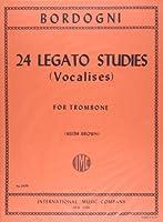 ボルドーニ: トロンボーンのための24のレガート練習曲(ヴォカリーズ)/ブラウン編/インターナショナル・ミュージック社