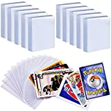 1000 Penny Sleeves Trading Card Protector Compatible with Pokemon, Top Loader Baseball Football Basketball Sleeves Fits for Magic The Gathering/ C.A.H/ Phase 10/ Sport Card And All Card Game Storage Holder
