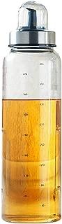 PROKTH オイルポット 調味料入れ 家庭キッチン 調味料ボトル 醬油さし オイル差し 目盛り付き 防塵高硼珪酸 ガラス 調理器具 キッチン 台所用 BBQ 量がコントロール 170ML /300ML /500ML