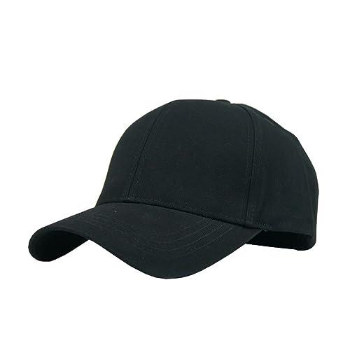 JAMONT Unisex Cotton Adjustable Plain Hat Baseball Cap Multi Colors 2340faab0d8f
